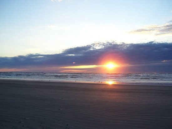 Port Aransas, TX....sun up at 5:00am