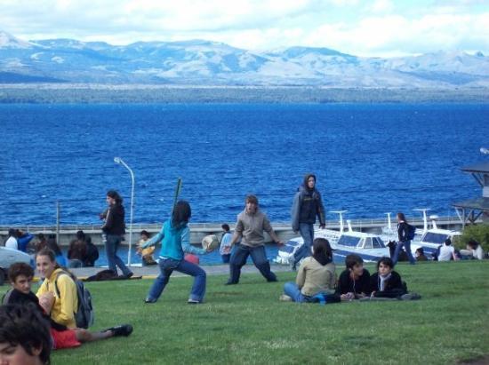 Centro Civico: Cercanias del lago Nahuel Huapi