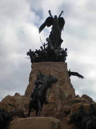 เมนโดซา, อาร์เจนตินา: Cerro de la Gloria (para una mejor vision vaya al billete de 5 pesos jaja)