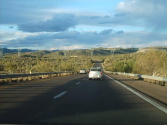 แฟลกสตาฟ, อาริโซน่า: camino a Flagstaff