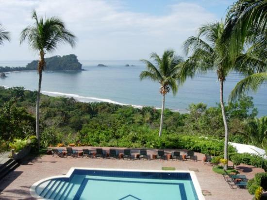อุทยานแห่งชาติ Manuel Antonio National Park, คอสตาริกา: View from our upper deck Manuel Antonio, C.R.