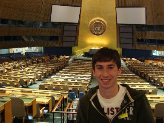 United Nations Headquarters: Me in the United Nations Building That was so amazing!