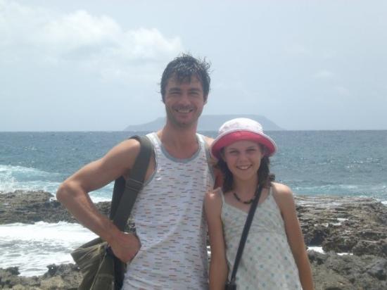 Sainte-Anne, กวาเดอลูป: Marie chez son oncle Ludovic en Guadeloupe en 2008