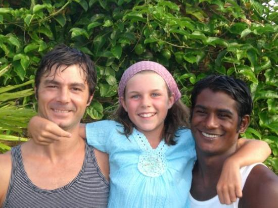 Sainte-Anne, กวาเดอลูป: Marie en Guadeloupe chez ses tontons