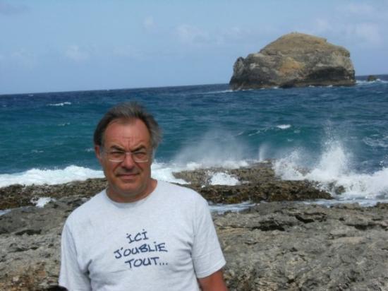 Sainte-Anne, กวาเดอลูป: mon homme il résume bien les vacances