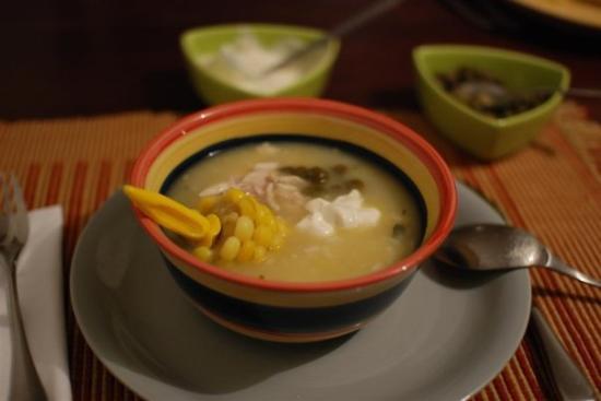โบโกตา, โคลอมเบีย: Ajiaco, plato típico bogotano.