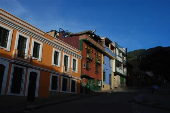 โบโกตา, โคลอมเบีย: Barrio de La Candelaria, Bogotá.