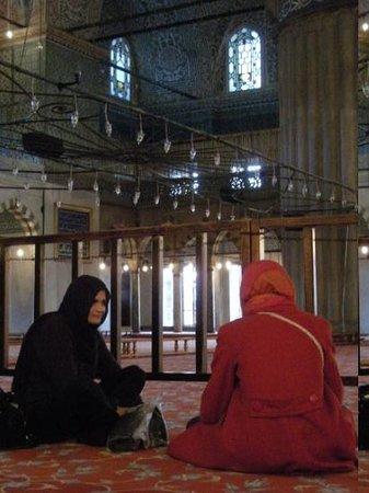 มัสยิดสุลต่านอาห์เมต: La Mosquée Bleue