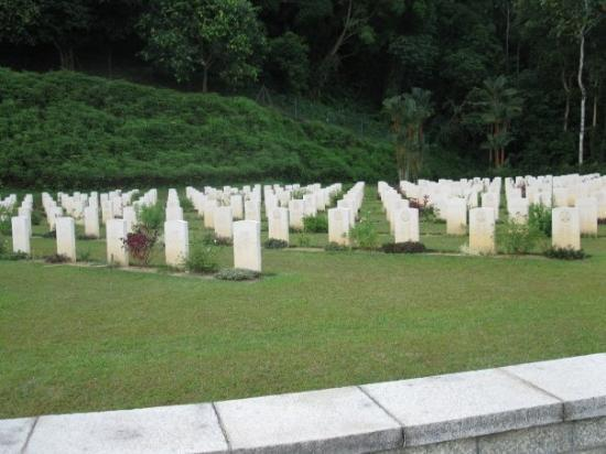 World World II cemetery in Taiping