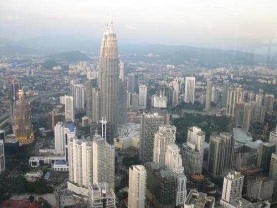 กัวลาลัมเปอร์, มาเลเซีย: View from KL Tower