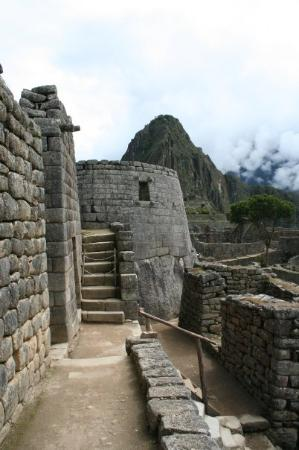 มาชูปิกชู, เปรู: Temple of the Sun in Machu Picchu