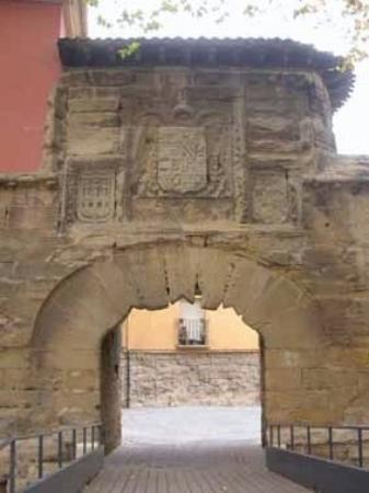 โลโกรโญ, สเปน: Antigua puerta de entrada a la ciudad, junto al cubo