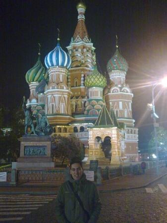 มอสโก, รัสเซีย: Catedral de San Basilio y yo