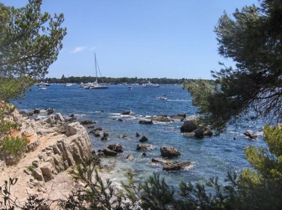 Iles de Lerins: Sur l'île Ste Marguerite à Cannes