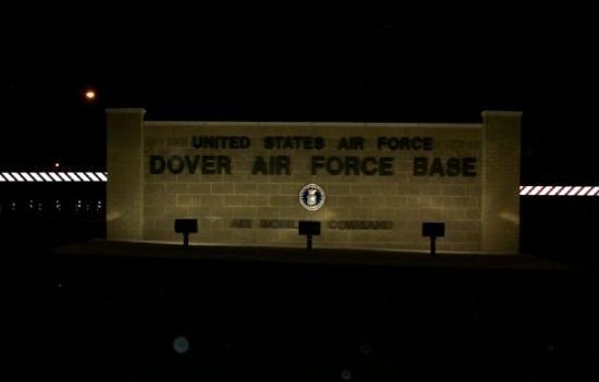 โดเวอร์, เดลาแวร์: Gate 1 at Dover Air Force Base