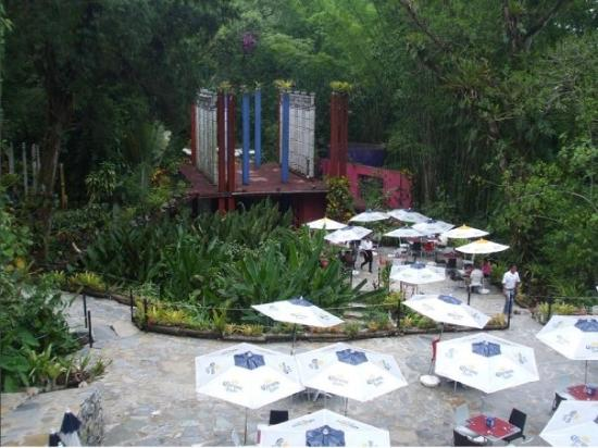 Xilitla, เม็กซิโก: RESTAURANT FUERA DEL CASTILLO DE EDWARD JAMES
