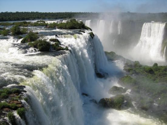 Iguazu Falls: Las cataratas son patrimonio natural de la humanidad