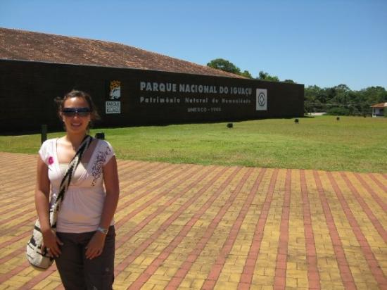 ฟอสโดอีกวาซู: En el parque de las cataratas del lado Brasileño