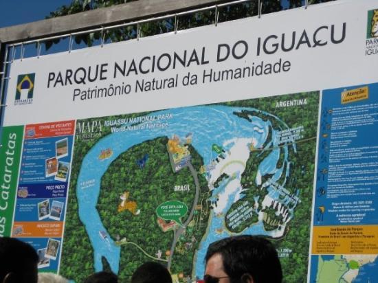 Iguacu National Park: Cataratas del lado brasileño