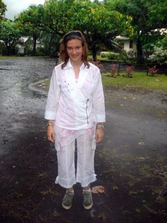 ปาเปเอเต, เฟรนช์โปลินีเซีย: Beaucoup de précipitations à Teahupoo !