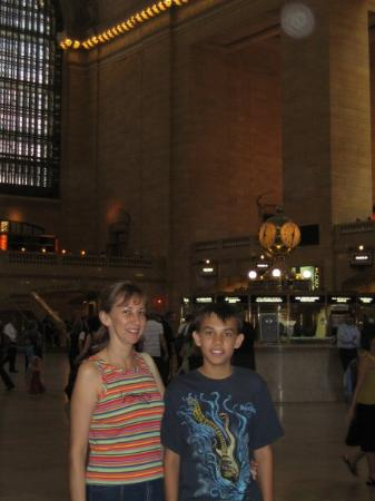 Grand Central Terminal: en una estacion de tren de Manhatan