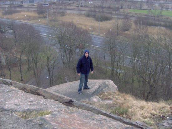 โกเธนเบิร์ก, สวีเดน: yep thats a cliff