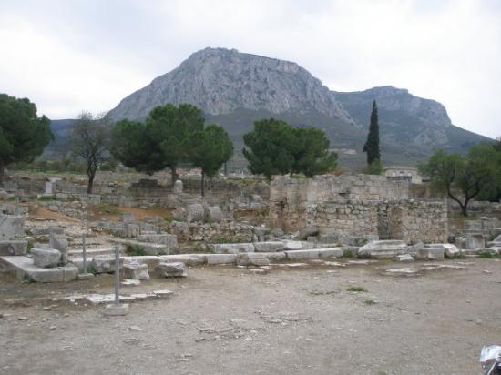 คอรินท์, กรีซ: Ancora altre rovine di Corinto...
