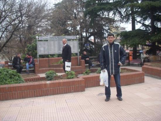 แทรบซอน, ตุรกี: Trabzon, Turkey. Central Park of city.
