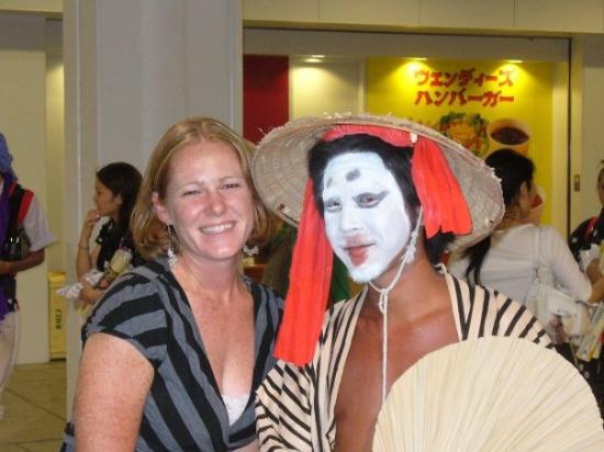 โอะกินะวะ, ญี่ปุ่น: Geisa Dancer.  One of many many many festivals in Okinawa.