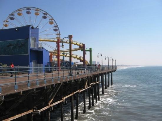 ซานตาโมนิกา, แคลิฟอร์เนีย: Santa Monica Pier