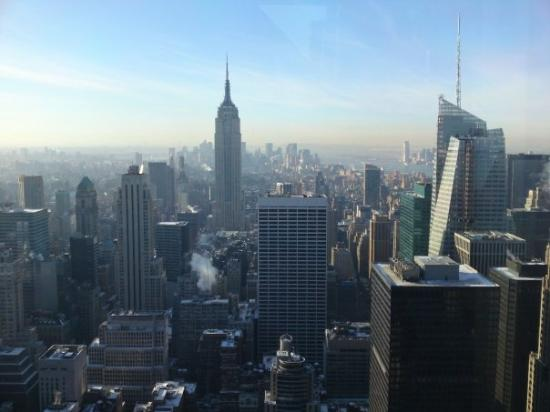 Rockefeller Center: Top of the Rock - Tuesday December 23rd