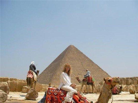 กิซ่า, อียิปต์: Me and My Camel....