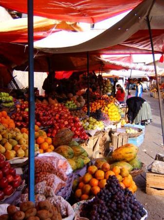 ซูเกร, โบลิเวีย: l'un des marchés ou on peut trouver des fruits deliciuexxxxxxxxxxxxxxx