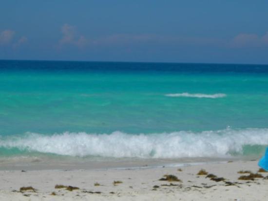 Cayo Santa Maria (เกาะคาโย ซานตา มารีอา), คิวบา: La plage du Barcelo Cayo Santa Maria
