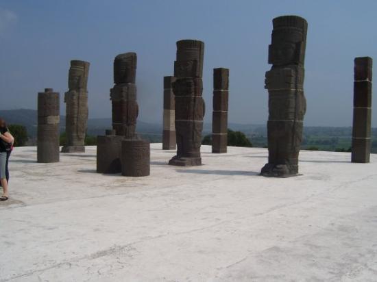 Tula de Allende, เม็กซิโก: the ruins in Tula