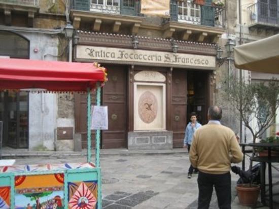 ปาแลร์โม, อิตาลี: la Focacceria san Francesco