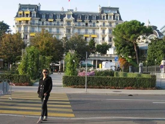 Laussonne, ฝรั่งเศส: Lake of Geneva - stayed in Beau-Rivage hotel.