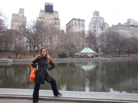 เซ็นทรัลปาร์ค: Juliene is showing me Central Park, NYC