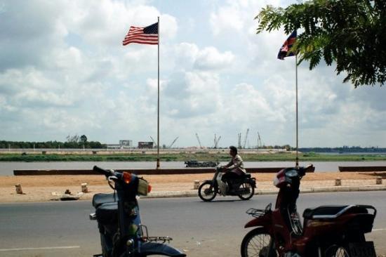 พนมเปญ, กัมพูชา: la croisette de PP