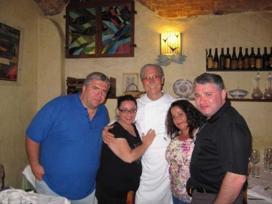 Restaurant La Pentola Dell'Oro: Chef Giuseppe - Il Maestro