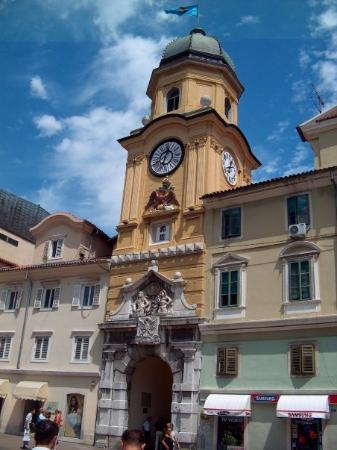 Rijeka, โครเอเชีย: La torre.