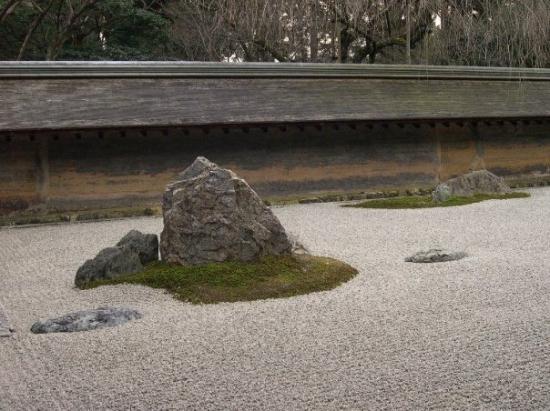 เกียวโต, ญี่ปุ่น: Giardino zen Ryoan-ji