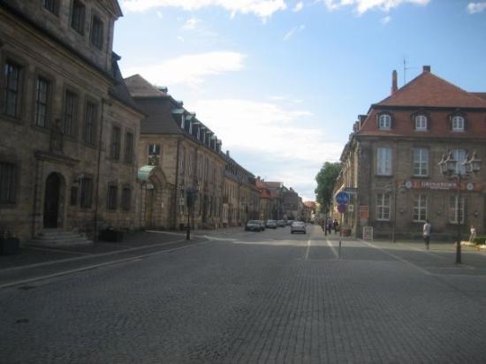 """ไบรอยท์, เยอรมนี: the very German street """"Friedrichsstraße"""""""