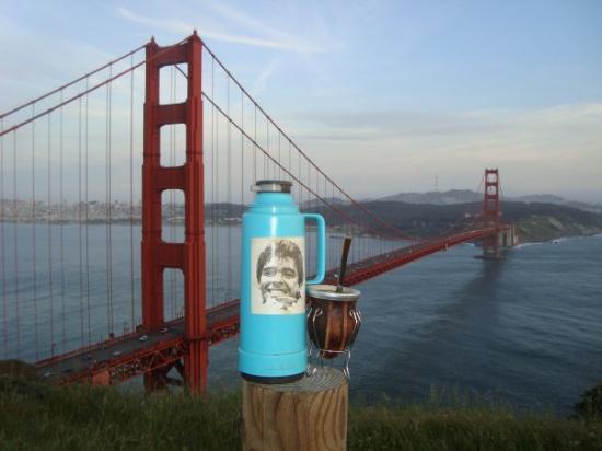 สะพานโกลเดนเกท: Yo, Argentino en cualquier lugar!!