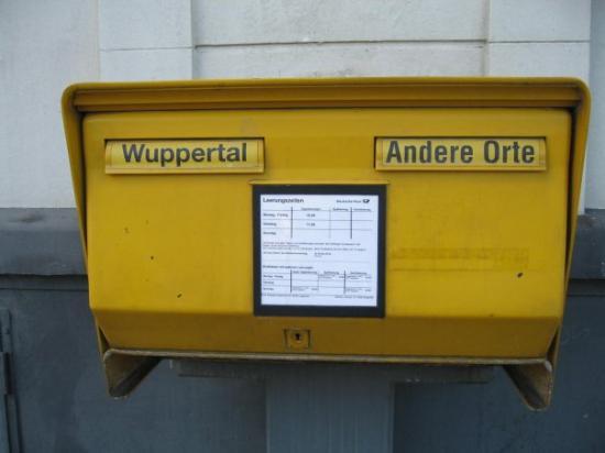 วุพเพอร์ทัล, เยอรมนี: Wuppertal ist einfach anders, ja *g