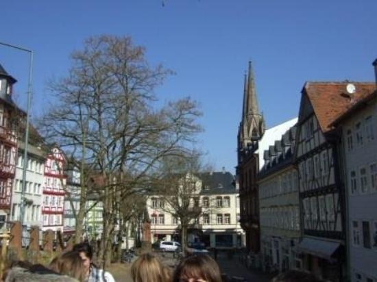Marburg, เยอรมนี: The old town