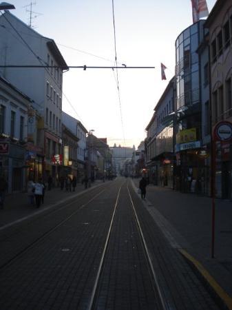 บราติสลาวา, สโลวะเกีย: Main shoppingstreet, although most of the people shop in the big shoppingmalls