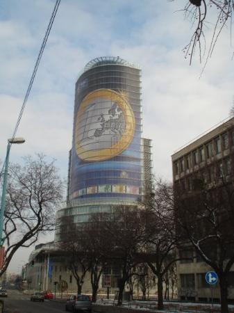 บราติสลาวา, สโลวะเกีย: The Slovak National bank, nice building