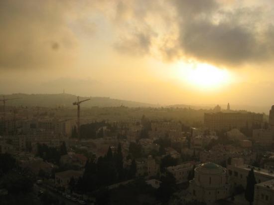เยรูซาเล็ม, อิสราเอล: Jerusalem at sunrise, nov07