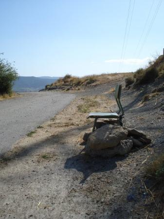 Jaca, สเปน: chair in the middle of nowhere for...euhm